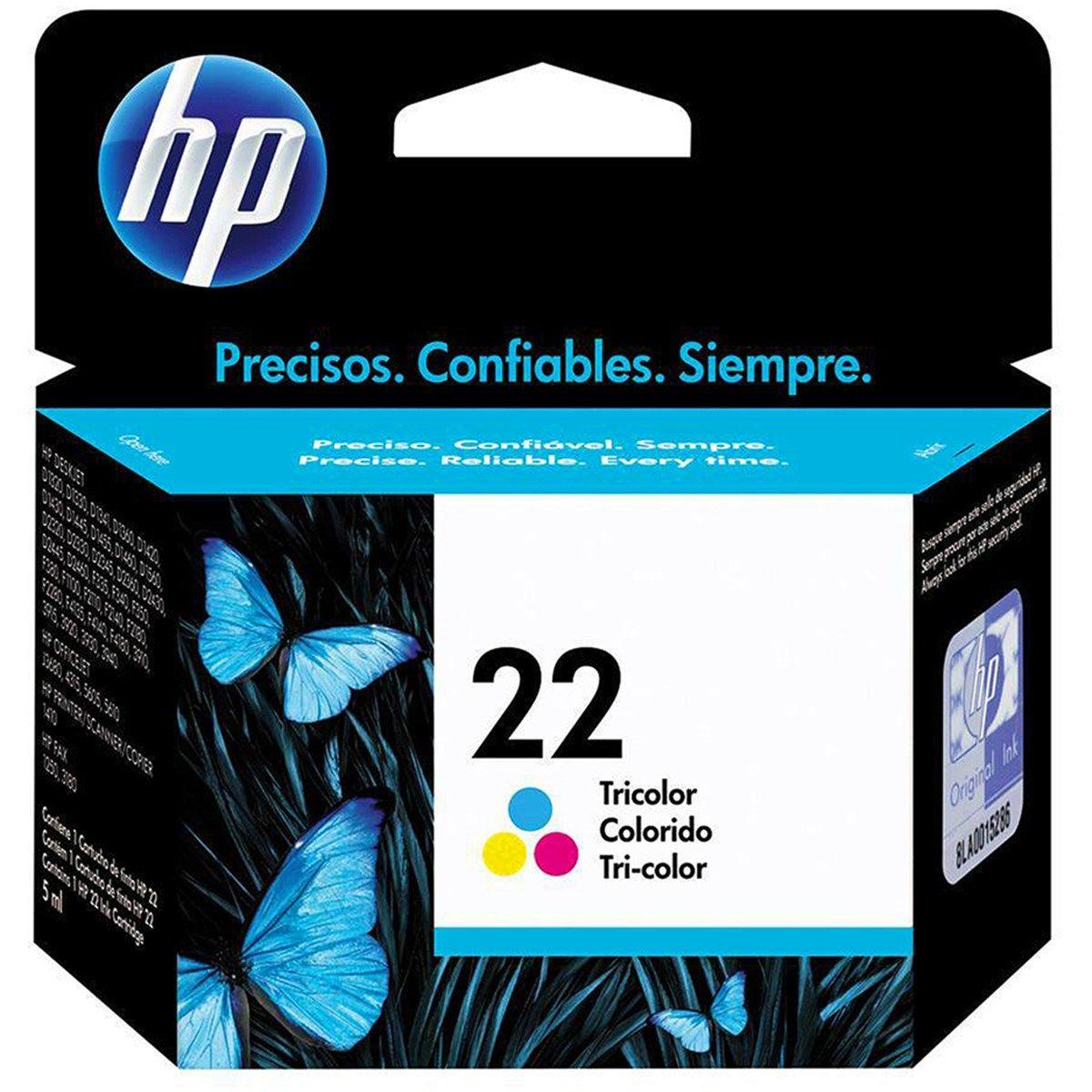 Cartucho de Tinta HP 22 C9352AB Color 6ml