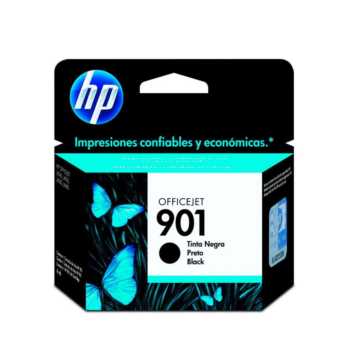 Cartucho de Tinta HP 901 CC653AB Preto 4,5ml
