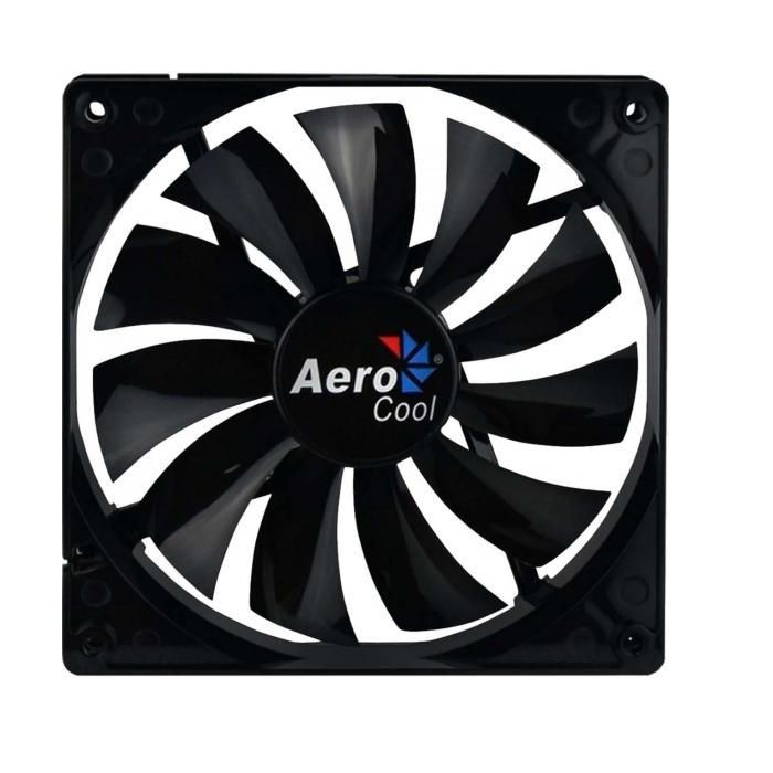 Cooler FAN AeroCool 140x140 Dark Force Black EN51349
