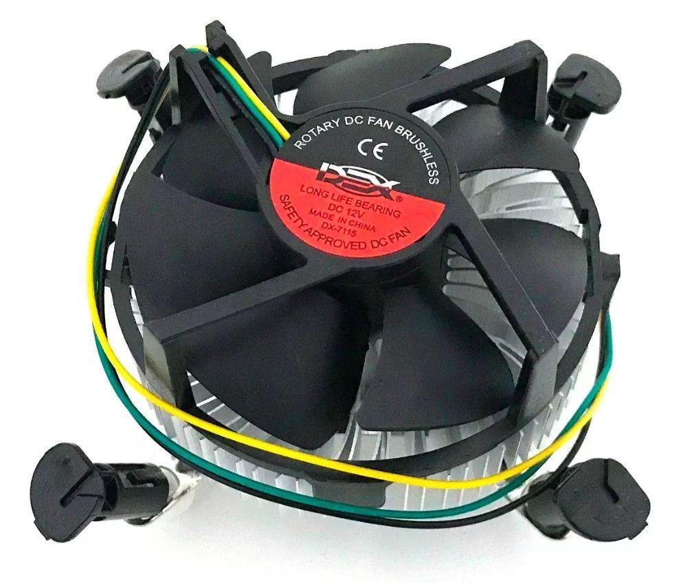 Cooler Processador Intel Socket LGA 775/1155/ 1156 - 75W Dex