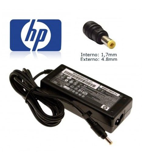 Fonte para Notebook HP 18.5V 3.5A - Pino fino 4.8x1.7mm - Compativel