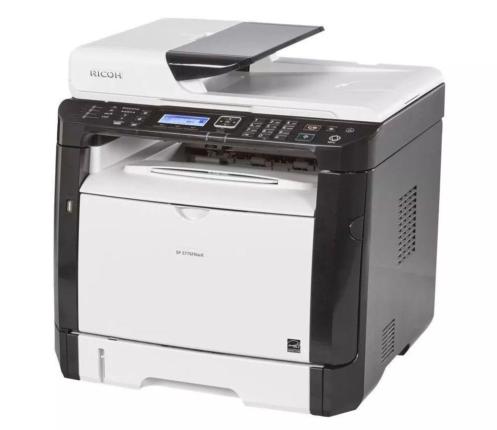 Impressora Multifuncional Laser Ricoh SP 377SFNWX Monocromática