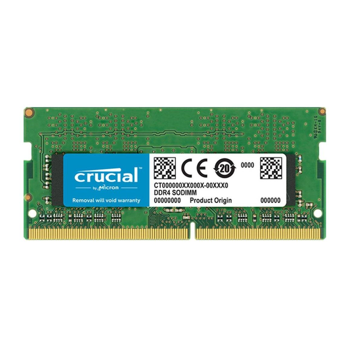 Memória Crucial 4GB 2400Mhz DDR4 p/Notebook