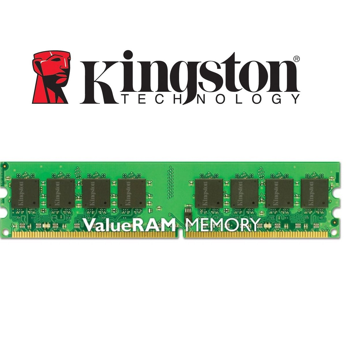Memória Kingston Desktop DDR3 8GB 1600Mhz CL11 Dimm KVR16N11/8