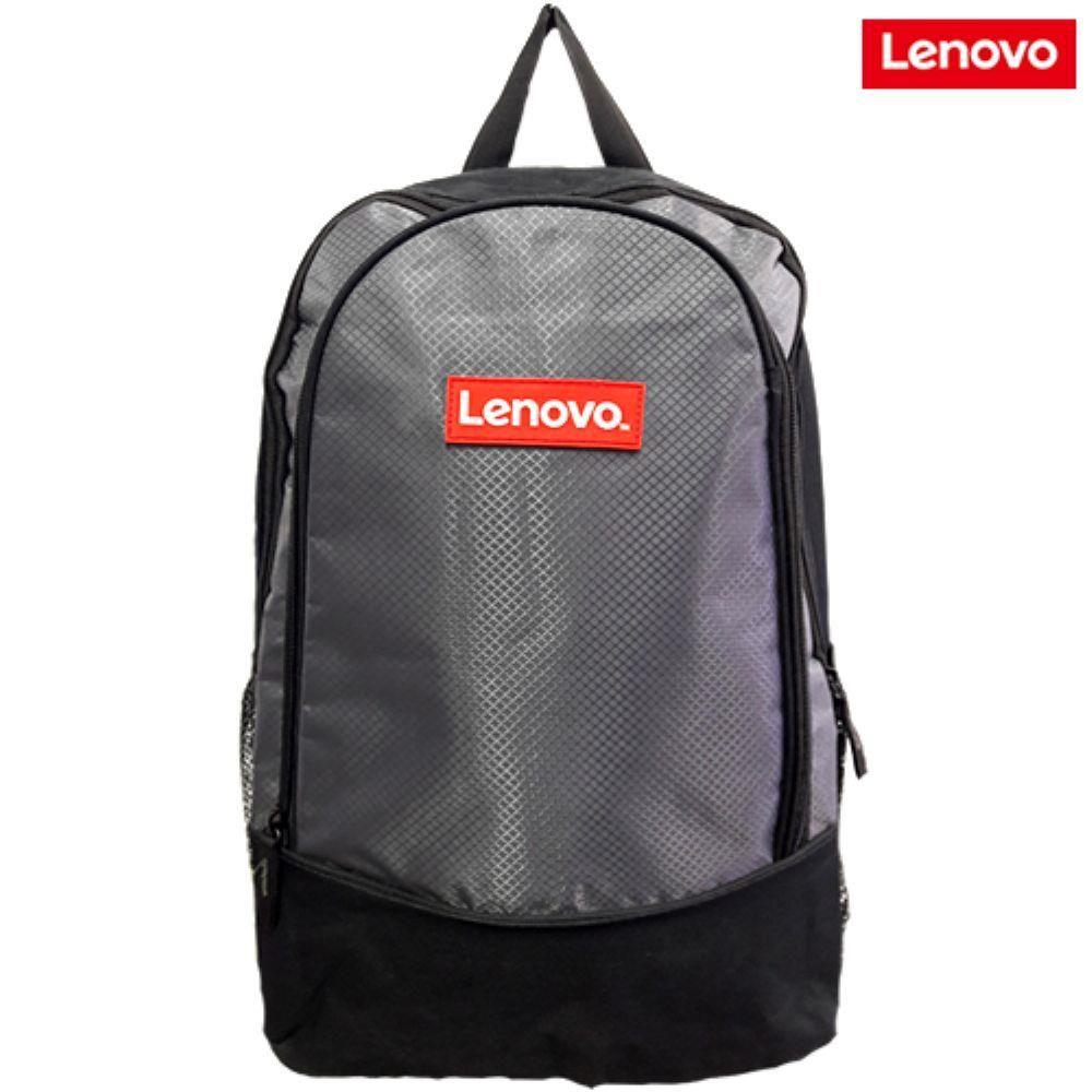 Mochila Lenovo Nylon 600 Para Notebook Até 15,6 Preta Cinza