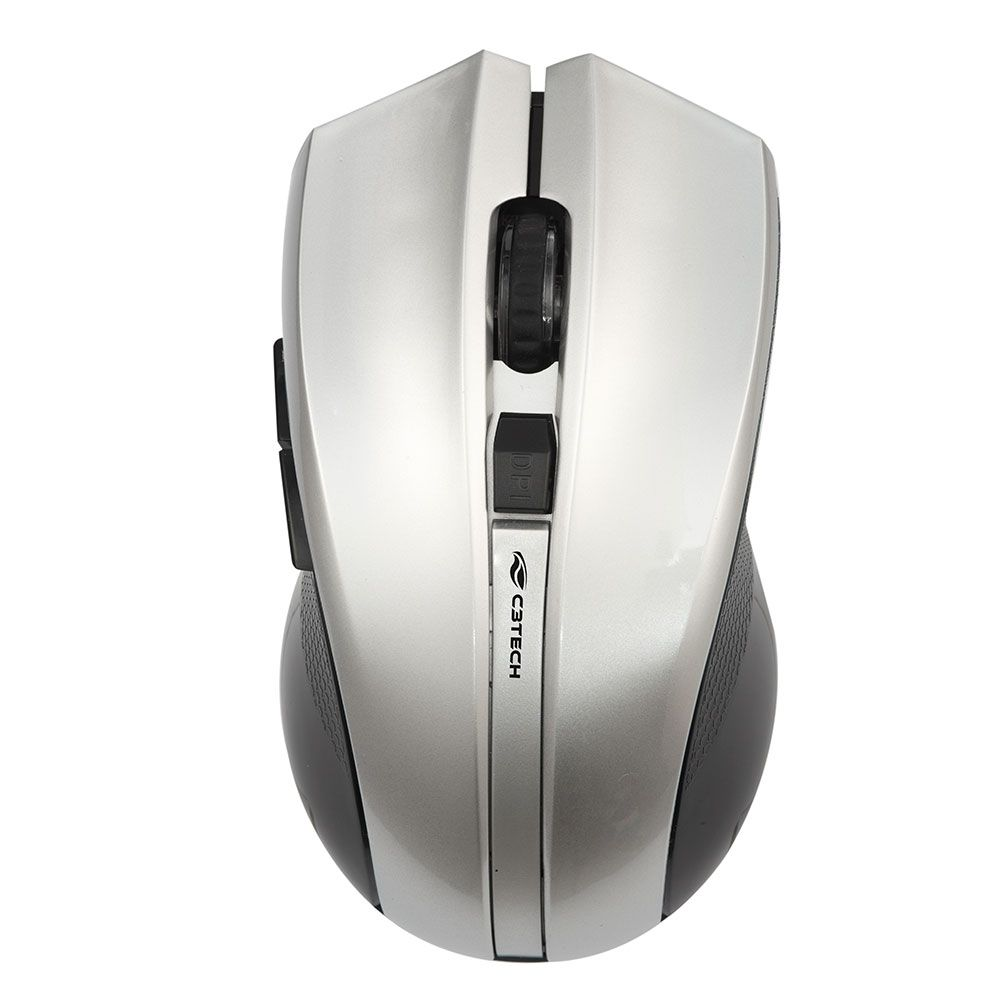 Mouse C3 Tech Sem Fio USB Preto - M-W108SI