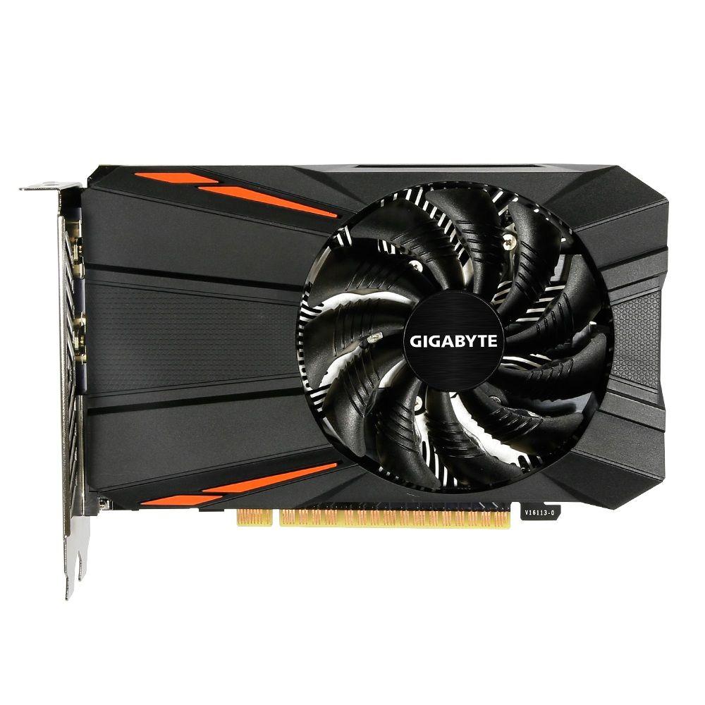 Placa de Vídeo Gigabyte Geforce GTX 1050 2GB GDDR5 128Btis - GV-N1050D5-2GD