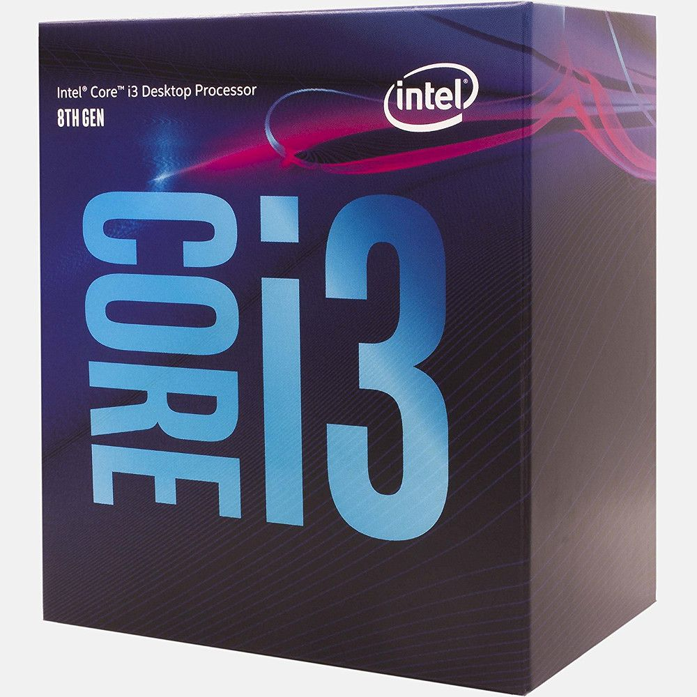 Processador Intel Core i3-8100 Coffee Lake 8a Geração, 3.6GHz, 6MB LGA 1151 - BX80684I3810