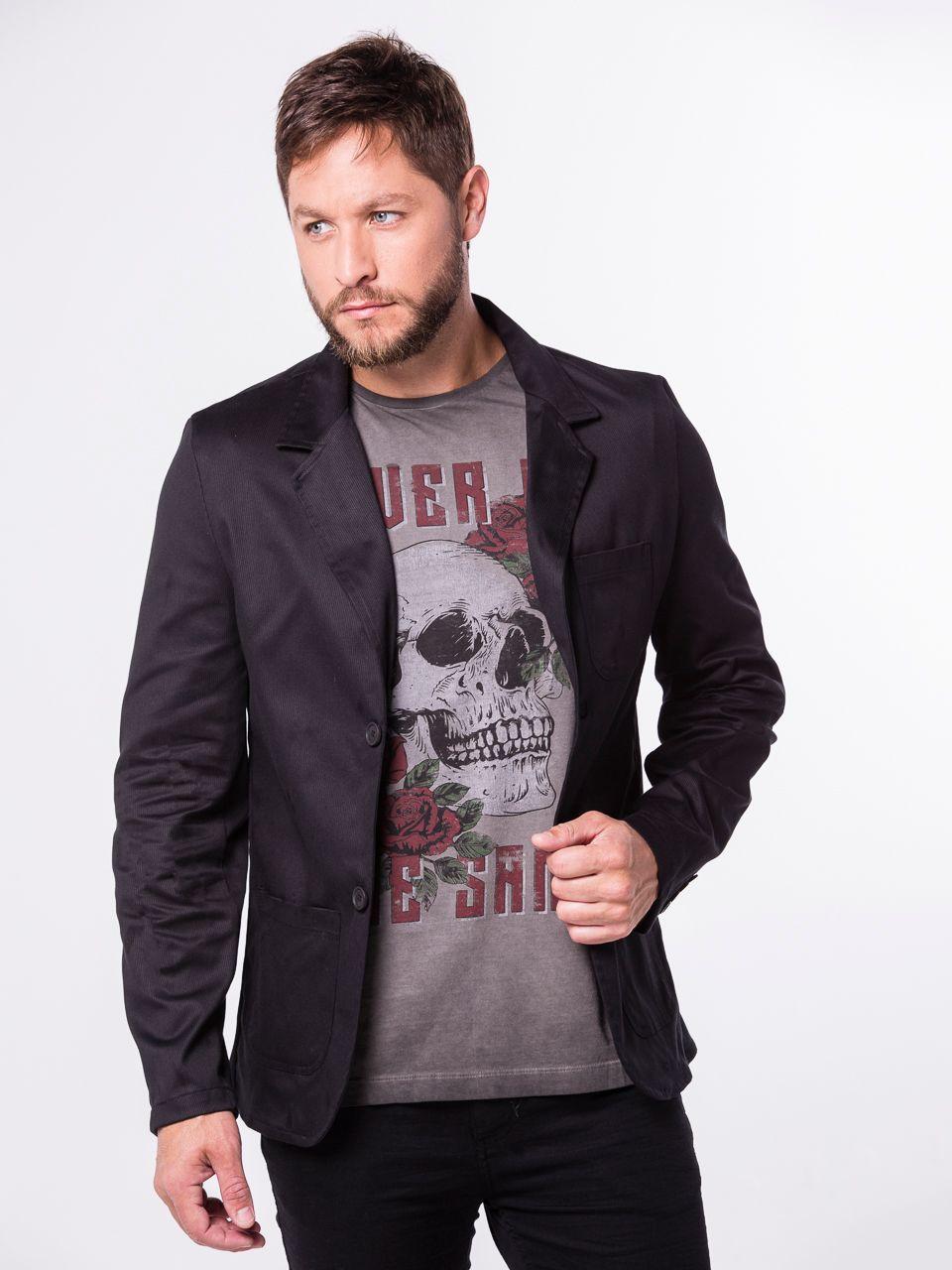 Camiseta - Estampa Caveira