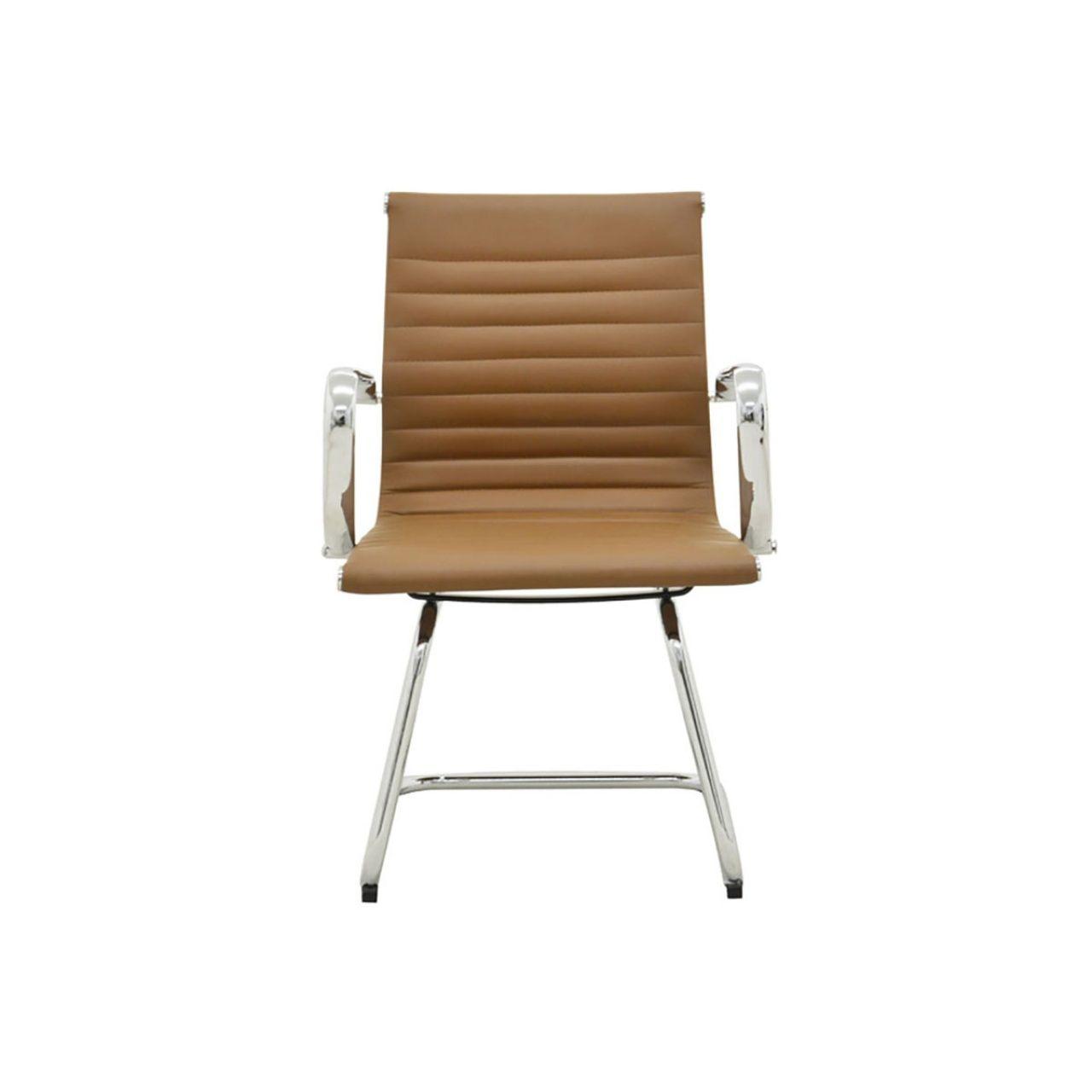 Cadeira Eames Sevilha Rivatti Baixa Fixa PU