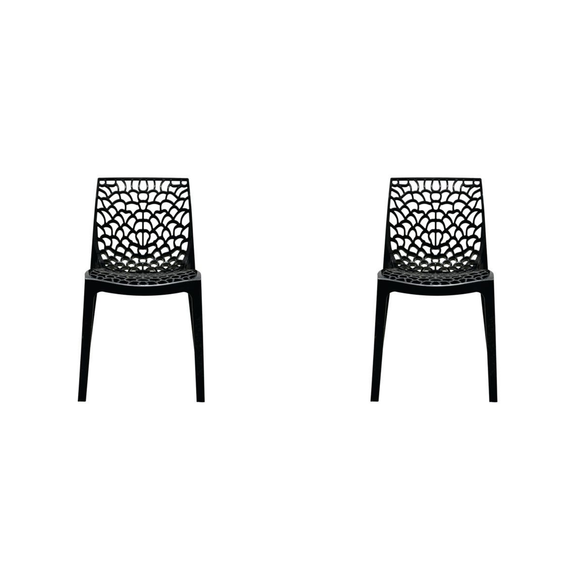 Conjunto 2 peças Cadeira Italiana Gruvyer Rivatti
