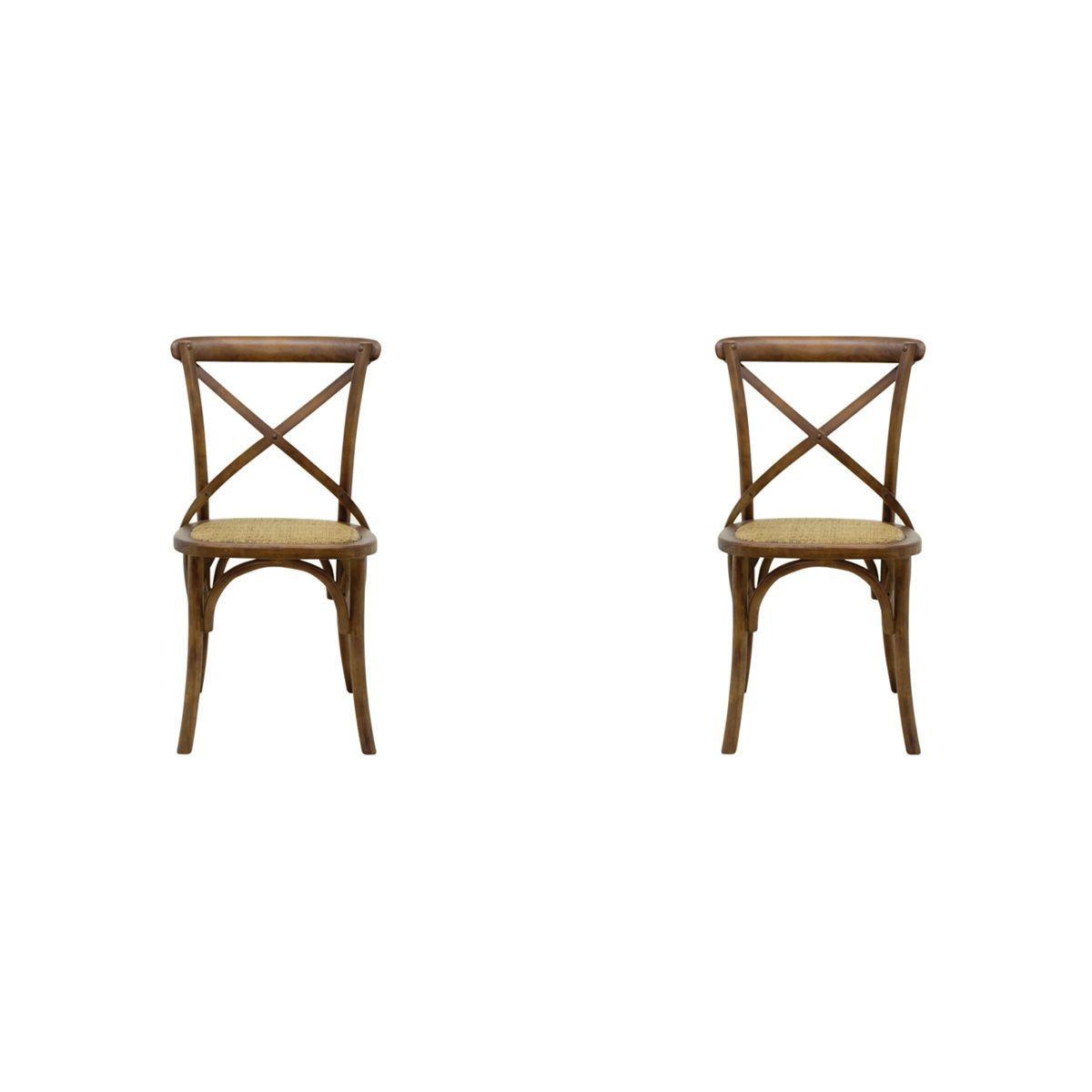 Conjunto 2 peças Cadeira Katrina Rivatti