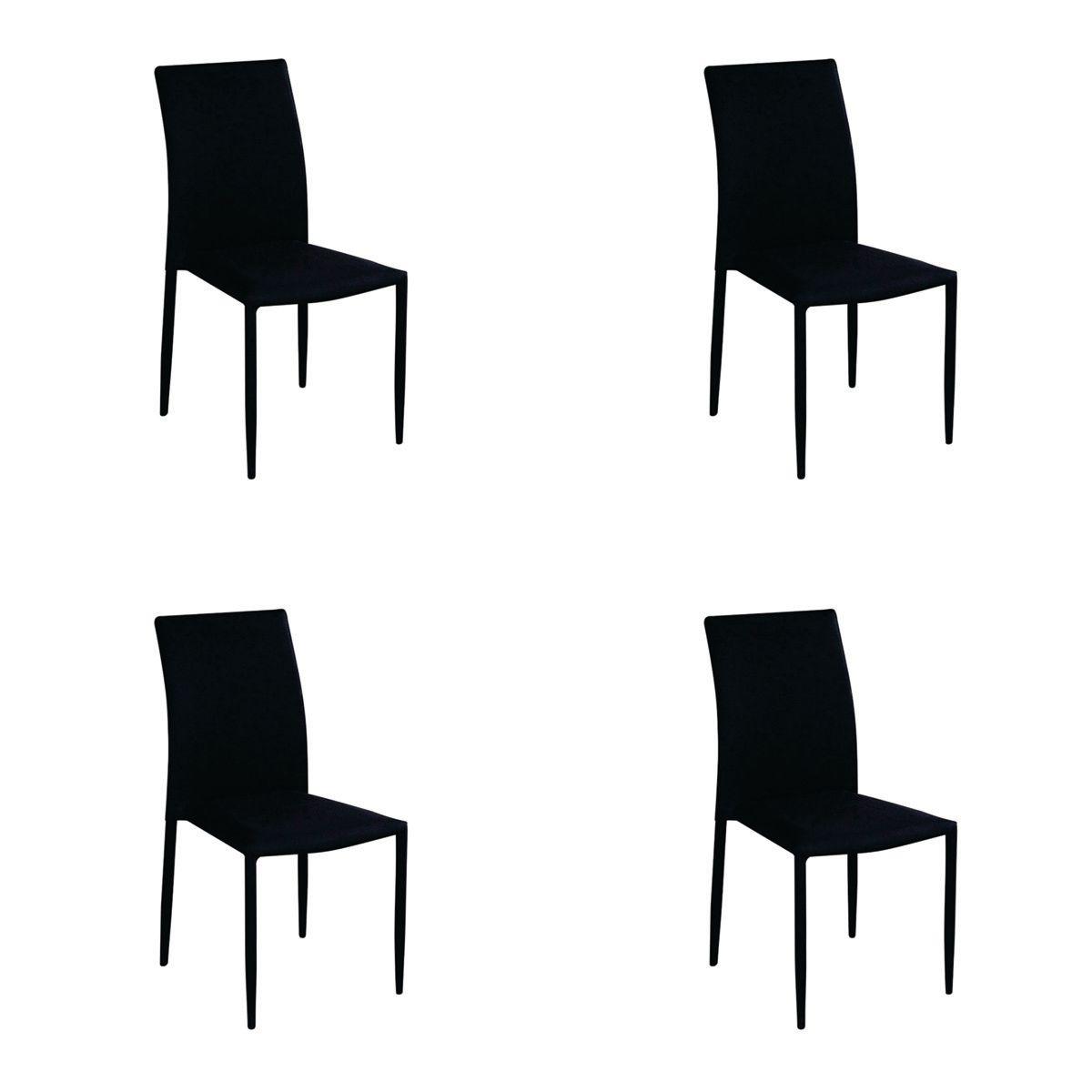 Conjunto 4 peças Cadeira Amanda Tecido Rivatti