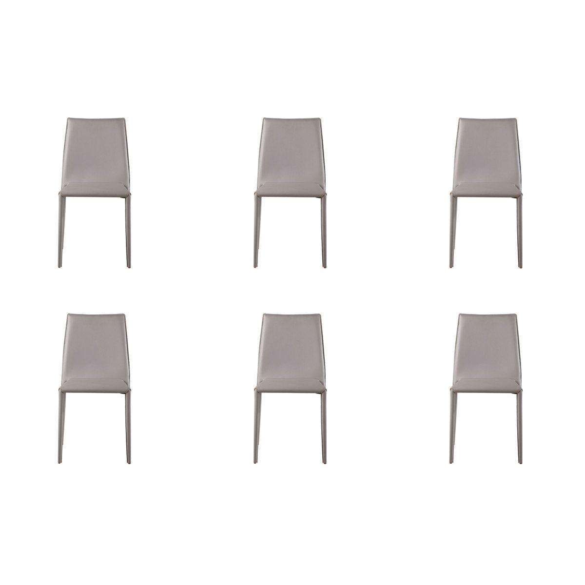 Conjunto 6 peças Cadeira Amanda Rivatti