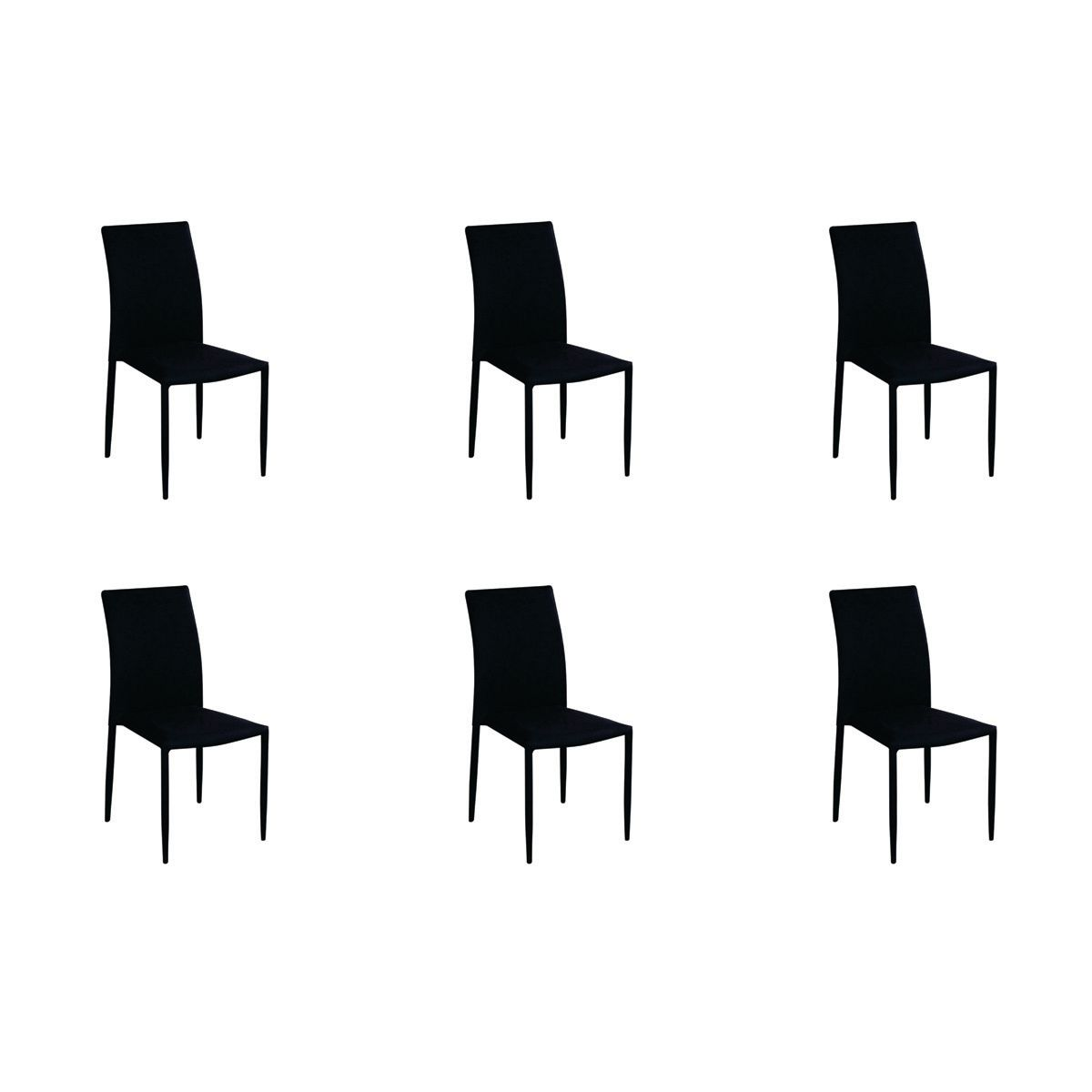 Conjunto 6 peças Cadeira Amanda Tecido Rivatti