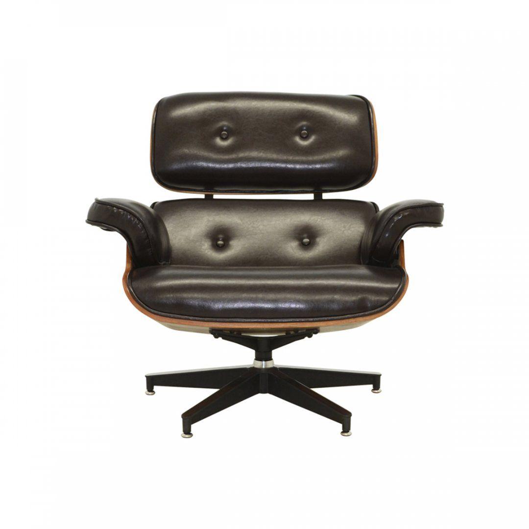 Poltrona Charles Eames com Puff Rivatti
