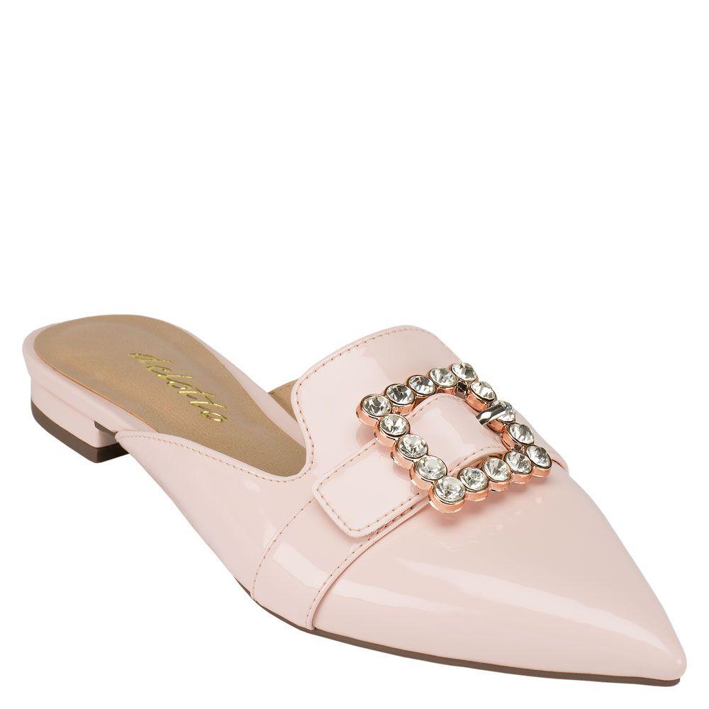 mule-flat-fivela-pedras-verniz-rosa-chiaro