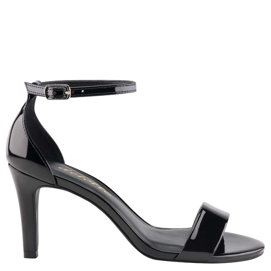 Sandália Clássica Verniz Preto