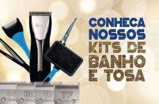 Kits de Banho e Tosa, melhores descontos, melhor preço, elevage