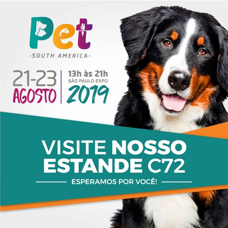 Visite nosso estande C72 na Pet South America 2019