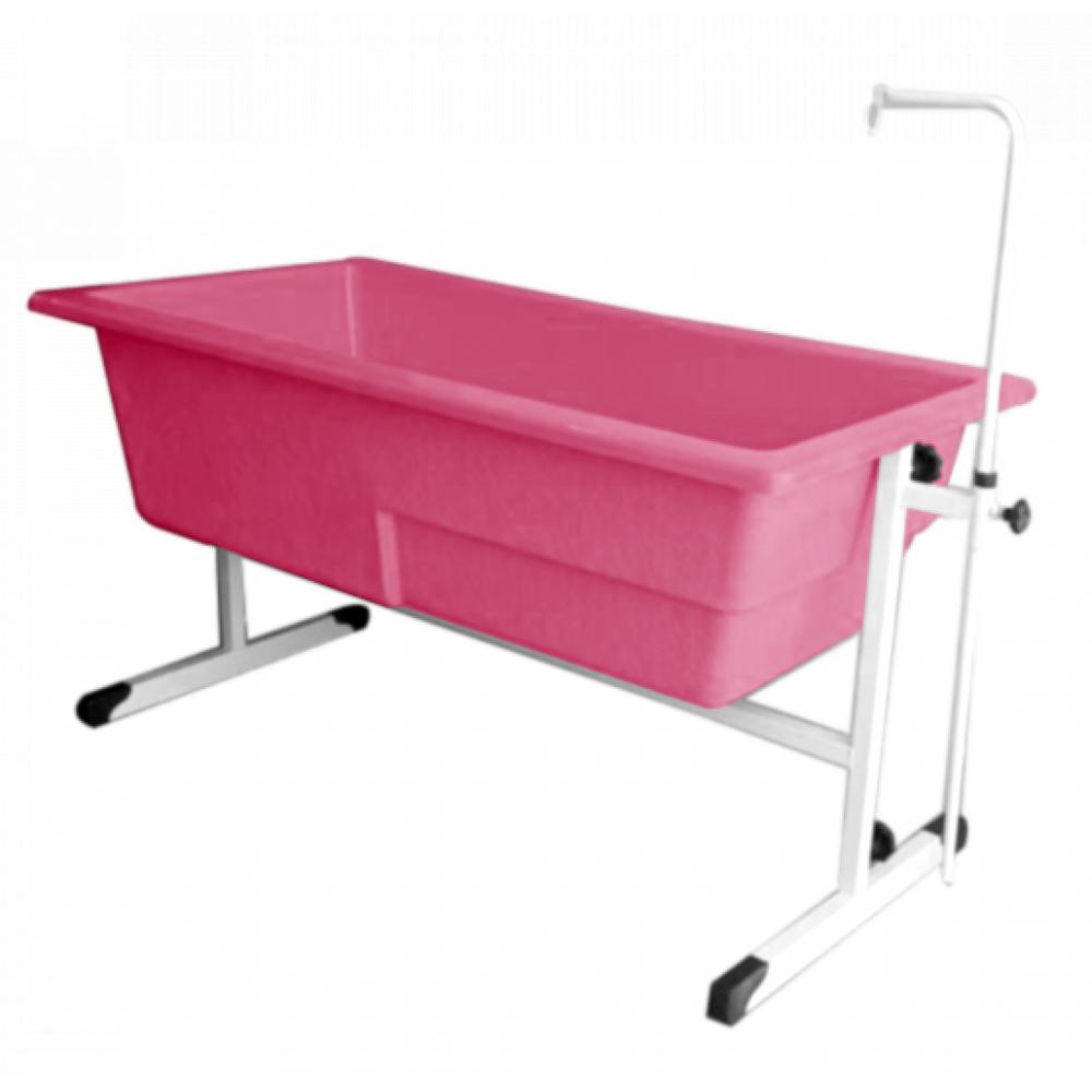 Banheira Orion Grande c/ Degrau Regulável Pink