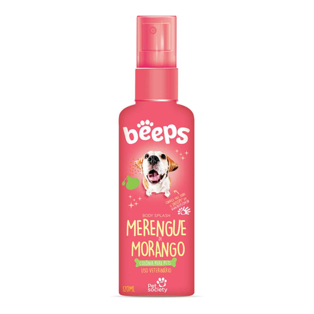 Colônia Beeps Merengue de Morango 120ml
