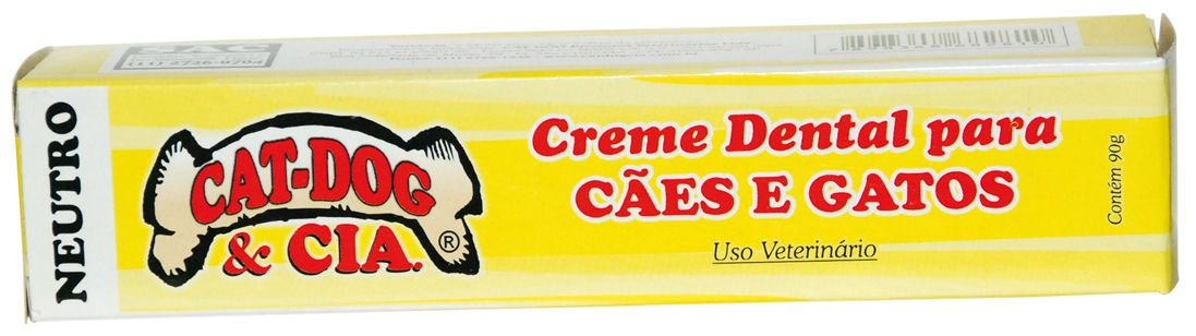 Creme Dental Cat Dog Neutro
