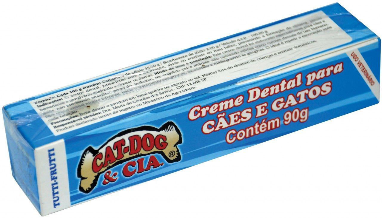 Creme Dental Cat Dog Tutti Fruti