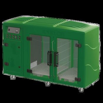 Máquina de Secar Rotomoldada Kyklon Verde