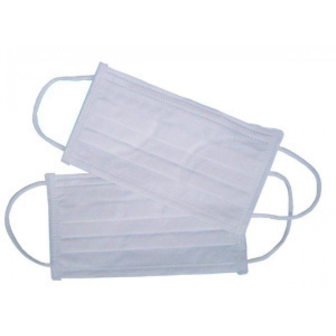 Máscara de TNT Para Proteção Respiratória c/ Elástico (Caixa)