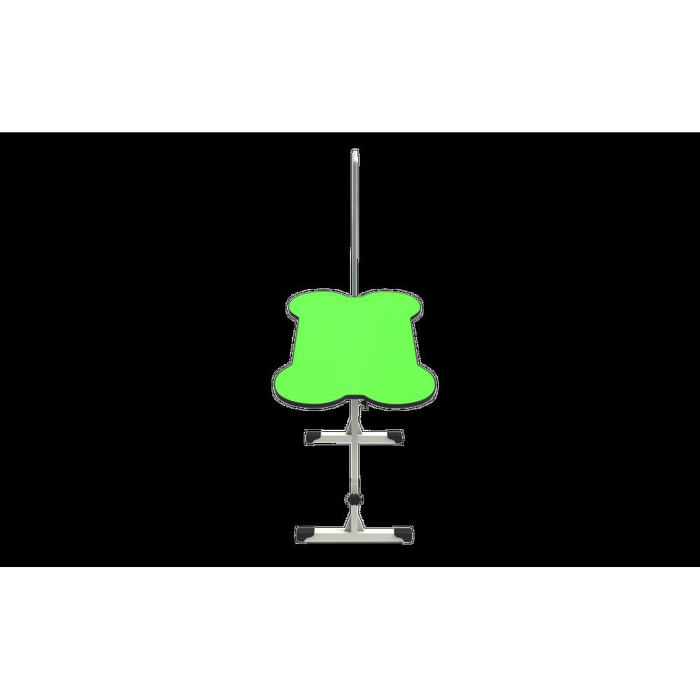Mesa de Tosa Regulável Ossinho Verde c/ Girafa Minag
