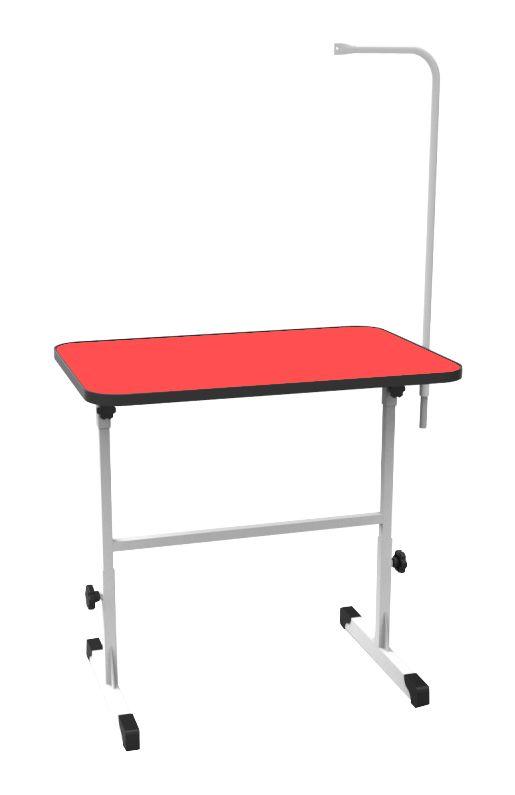 Mesa de Tosa Regulavel Vermelha c/ Girafa Minag