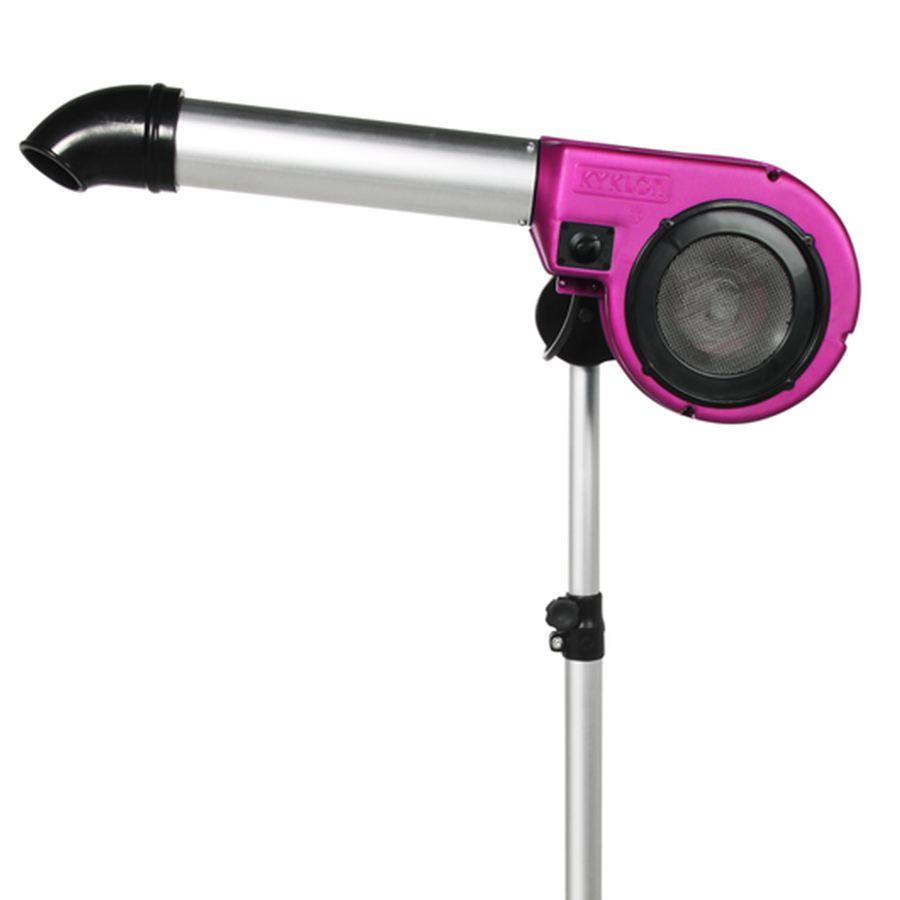 Secador 5000 Kyklon Pink 127V de Pedestal para Pet Shop, Banho e Tosa