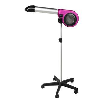 Secador 5000 Kyklon Pink 220V de Pedestal para Pet Shop, Banho e Tosa