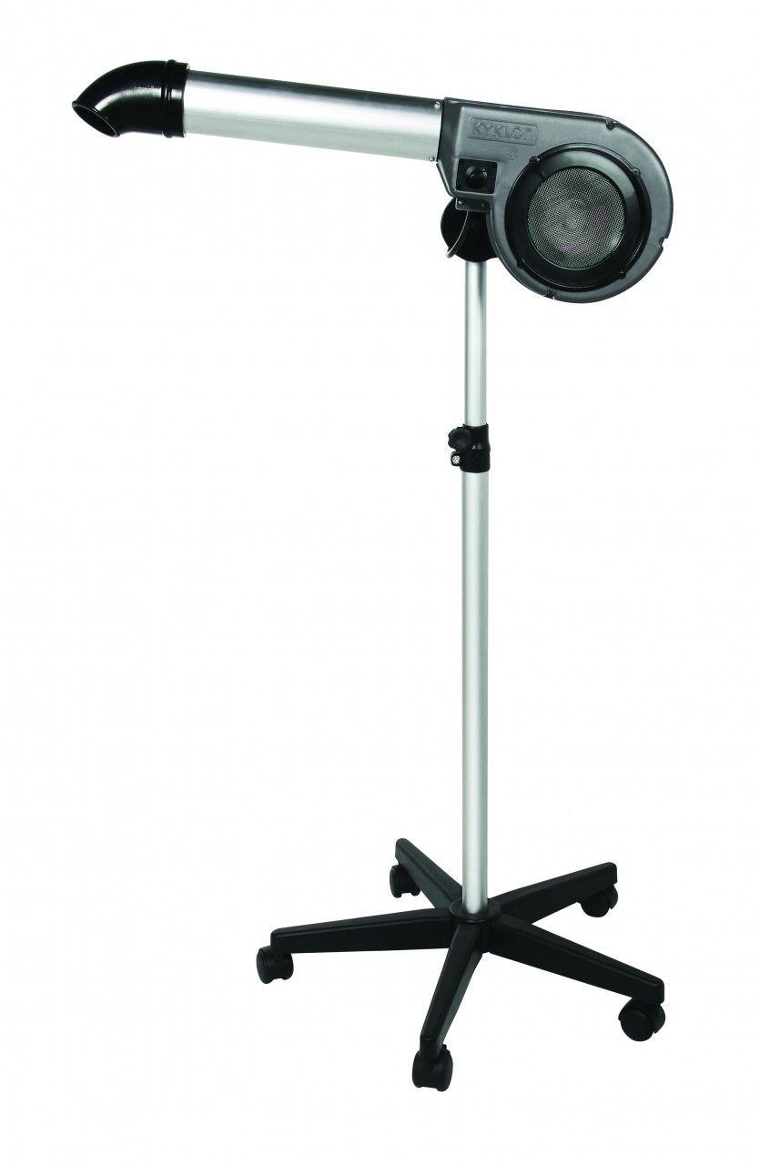 Secador de Pedestal Kyklon 5000 Cinza + Soprador Maxx Cinza - Combo
