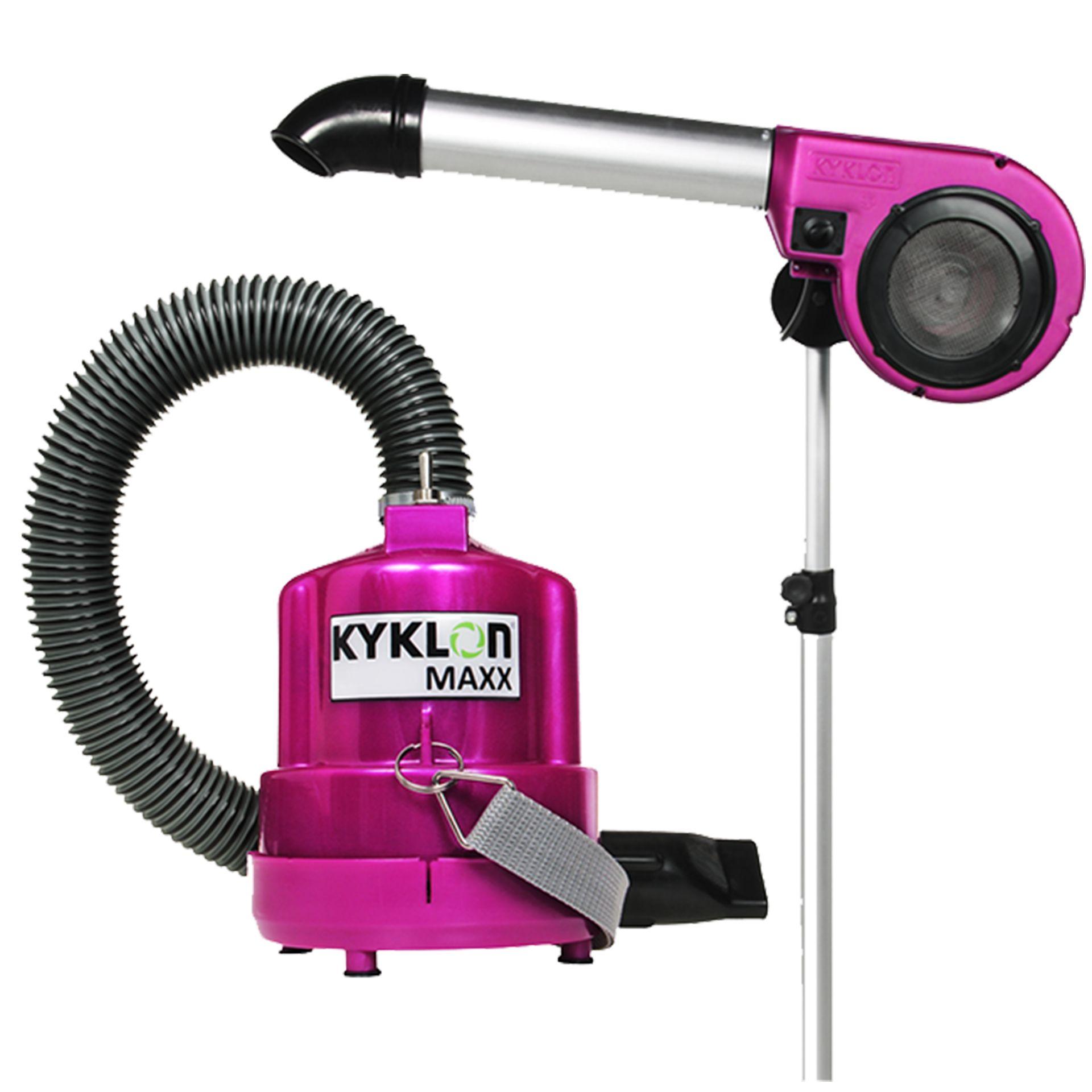 Secador de Pedestal Kyklon 5000 Pink + Soprador Maxx Pink - Combo