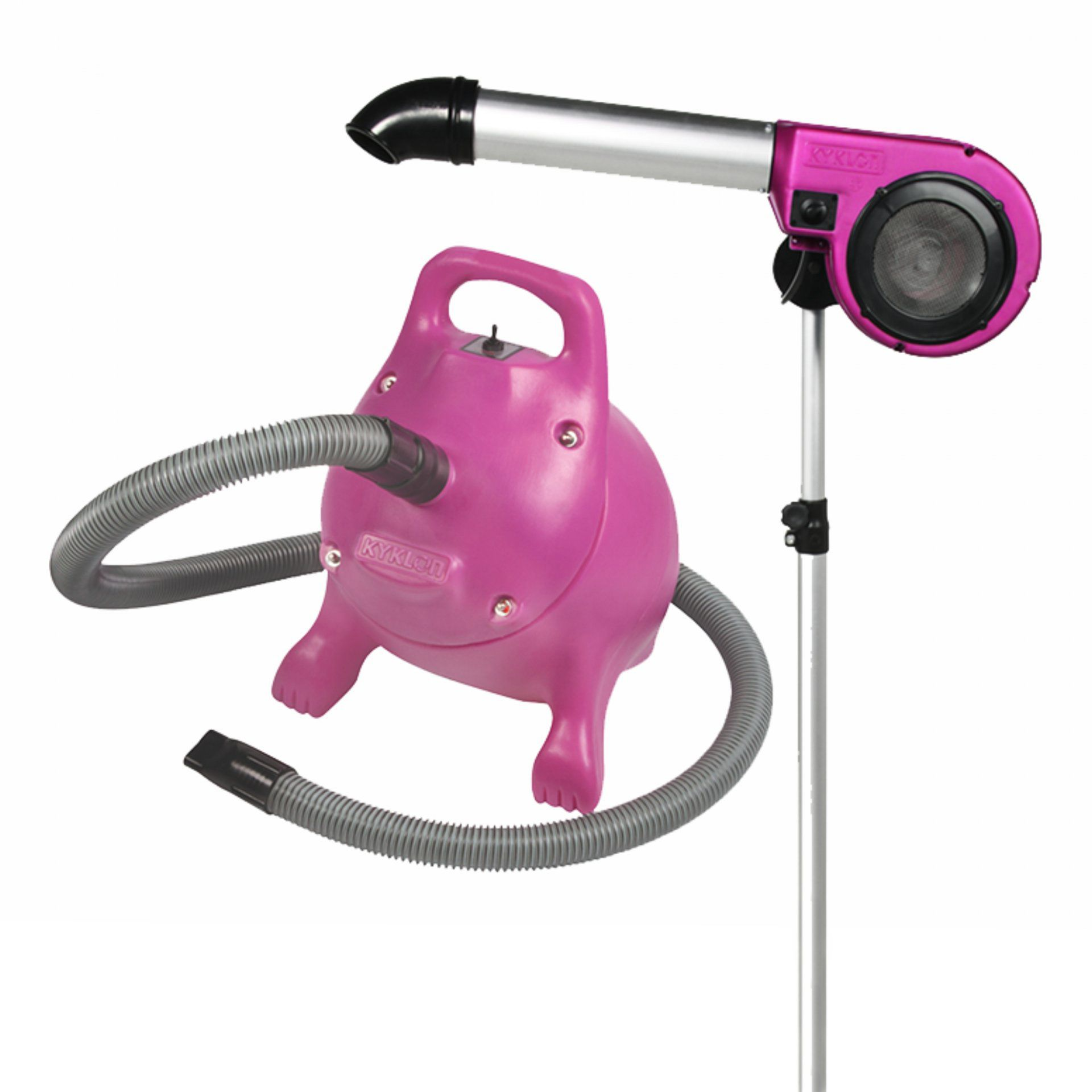 Secador de Pedestal Kyklon 5000 Pink + Soprador RX Pink - Combo