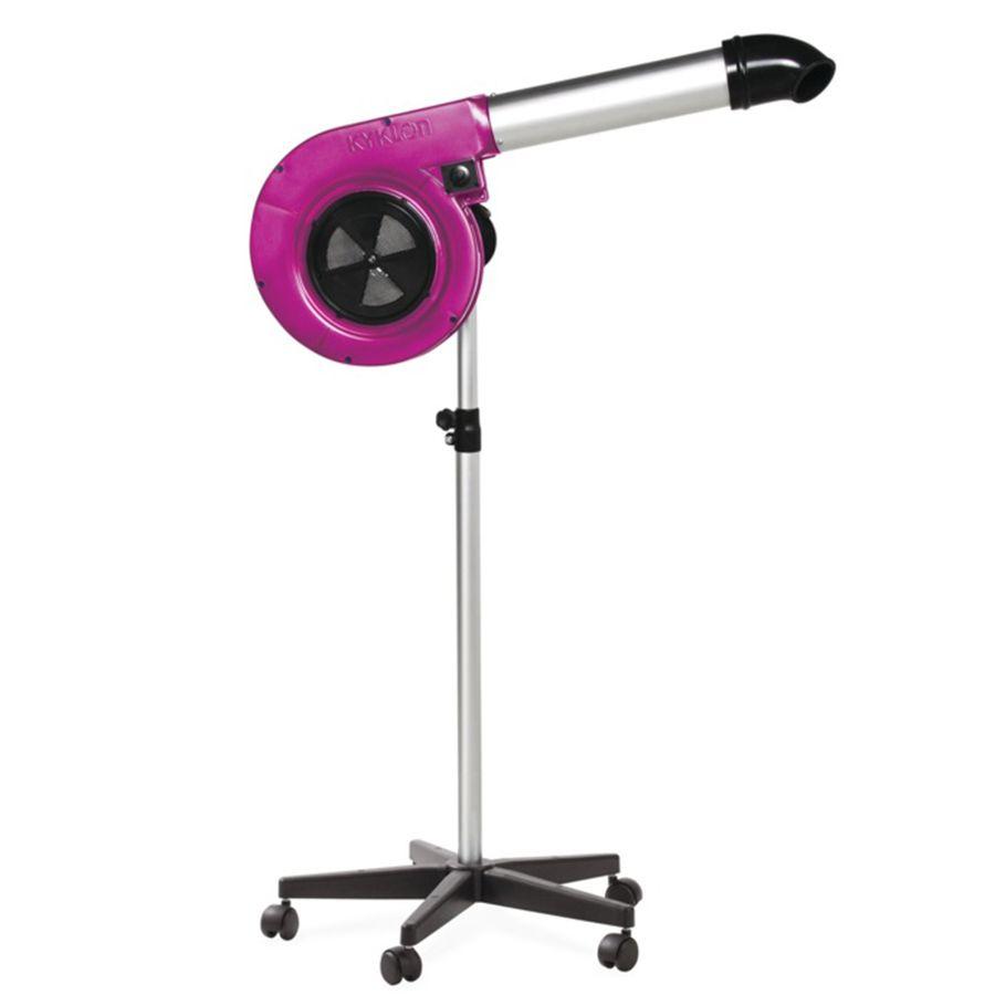 Secador Maestro Pink Kyklon 127V de Pedestal para Pet Shop, Banho e Tosa