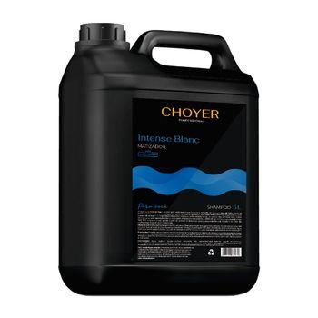 Shampoo Intense Blanc Matizador Choyer 5L + Válvula Grátis