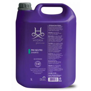 Shampoo Neutro Hydra Pro Pet Society 5L 1:10