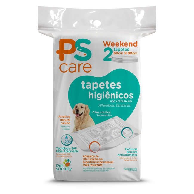 Tapete Higiênico Pet Society PS Care (2 und)