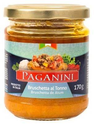 Bruschetta Paganini Atum 170G