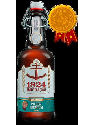 Cerveja Imigração Pilsen Premium 500ml