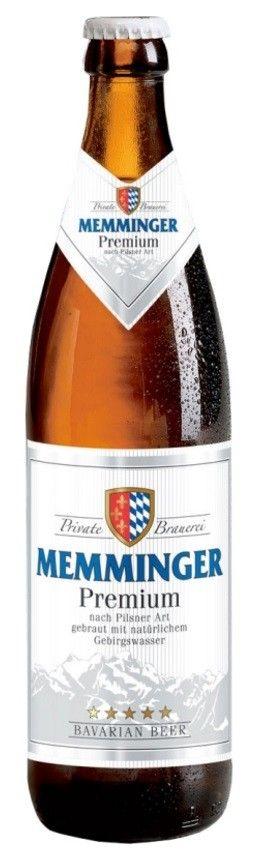 Cerveja Memminger Premium Pilsen 500ml