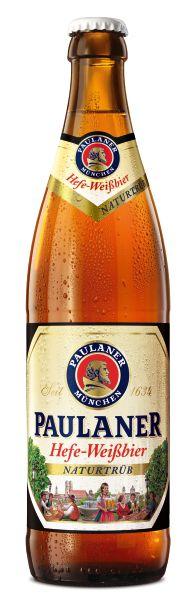 Cerveja Paulaner Hefe-Weissbier Naturtrüb 500ml