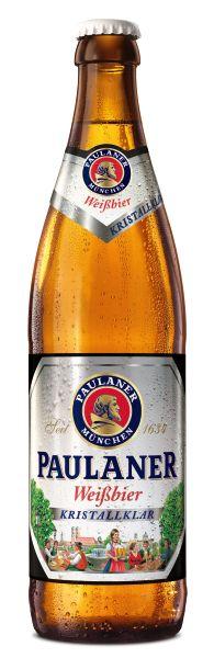 Cerveja Paulaner Weissbier Kristallklar 500ml