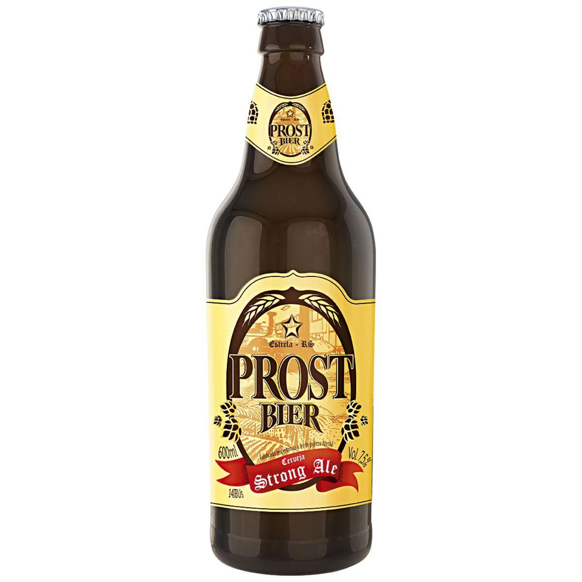 Cerveja Prost Bier Strong Ale  600ml