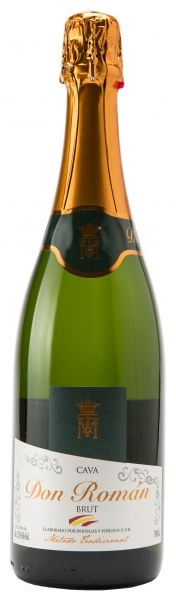 Espumante Cava Don Román Brut 750ml