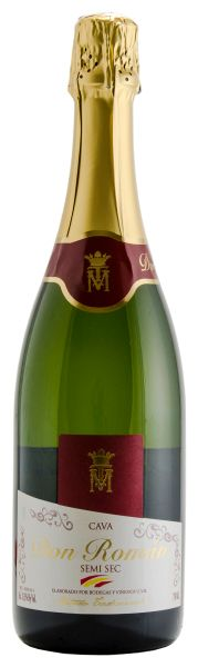 Espumante Cava Don Roman Demi Sec  750ml