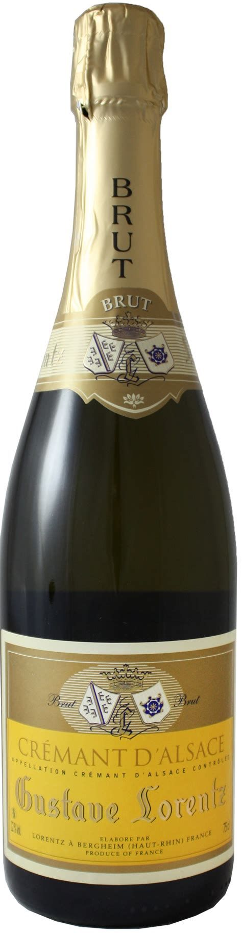 Espumante Cremant D'Alsace Gustave Lorentz Brut 750ml